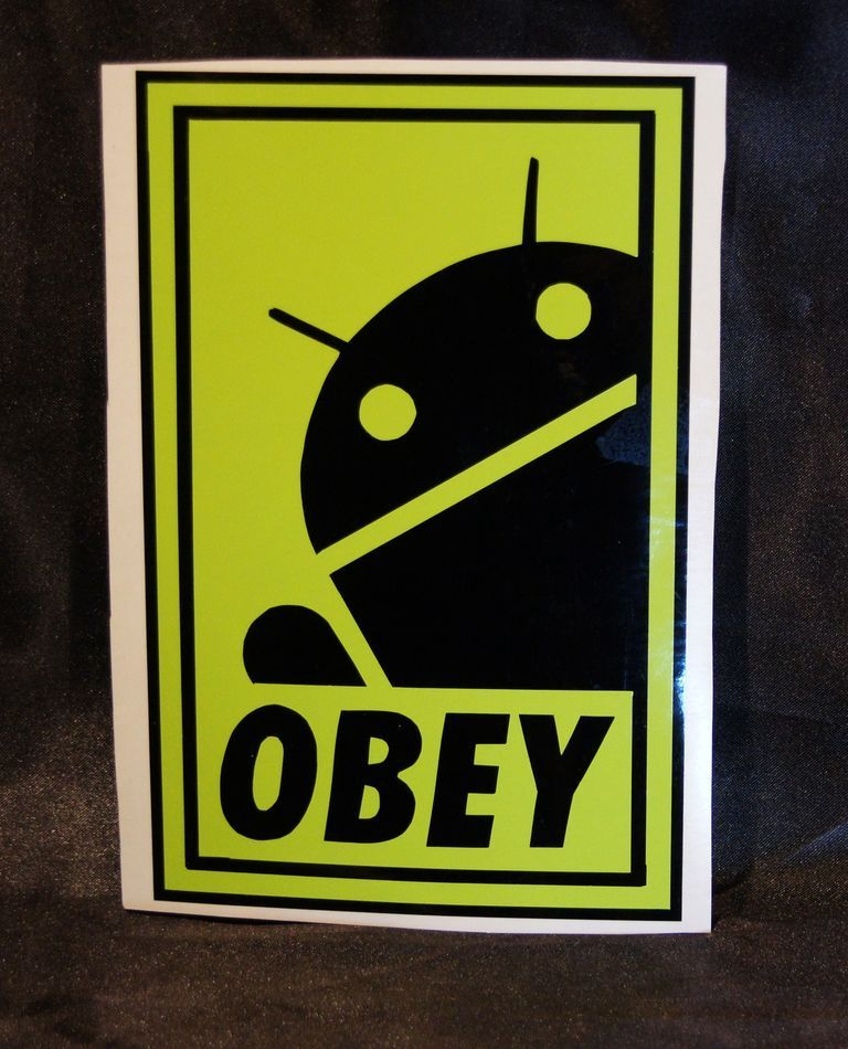 - Android Obey [ 18x11 ] 2€