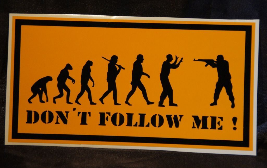- Don´t follow me [ 20x11 ] 3€